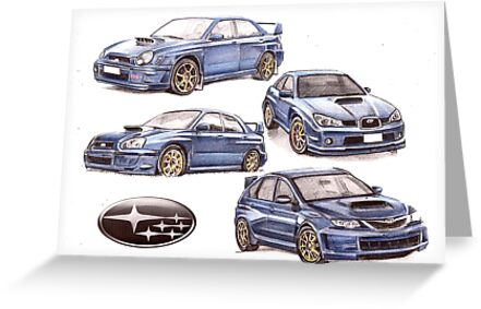 Subaru evolution  by Alleycatsgarden