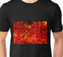 red wire Unisex T-Shirt