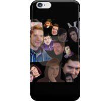 Aleks face collage iPhone Case/Skin