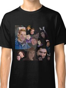 Aleks face collage Classic T-Shirt