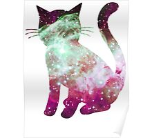 Thor's Helmet Nebula | Space Kitty Poster