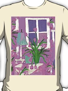 Pink Tulips for my Shabby Chic Home T-Shirt