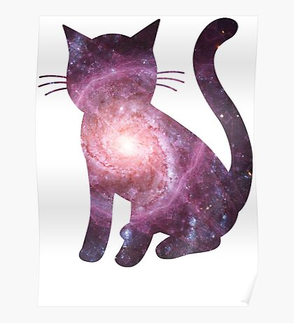 Electric Handkerchief   Space Kitty Poster