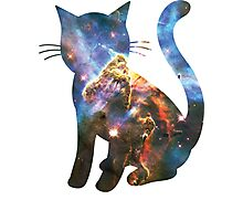 Carina Nebula | Space Kitty Photographic Print