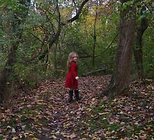 Girl in Forest by grianne