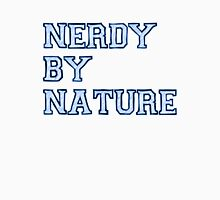 Nerdy By Nature (blue) Unisex T-Shirt