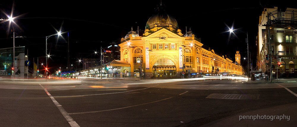Flinders Street by pennphotography