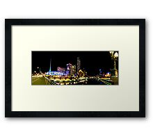 South Bank In My Light (1001 Views - 11/05/2010) Framed Print