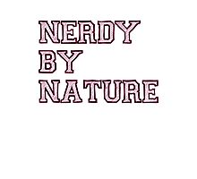 Nerdy By Nature (pink) Photographic Print