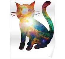 Heart of Orion   Space Kitty Poster