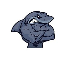 Muscle Shark Photographic Print