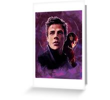 Barry Allen - The Flash Greeting Card