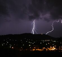 Lightning Strikes! by Richard  Cubitt