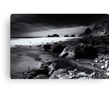 Back Beach Canvas Print