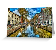 Amsterdam in Autumn Greeting Card