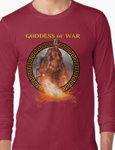 Goddess of War (collaboration with Miss Sinister Cosplay) Long Sleeve T-Shirt