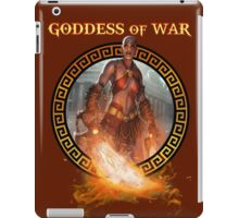 Goddess of War (collaboration with Miss Sinister Cosplay) iPad Case/Skin