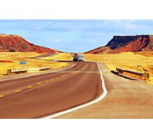 The Road Home,.....Oklahoma Photographic Print
