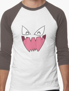 Haunter Face Men's Baseball ¾ T-Shirt