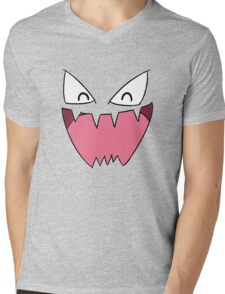 Haunter Face Mens V-Neck T-Shirt