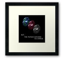 Chrono Trigger - Game Over - But The Future Refused To Change Framed Print