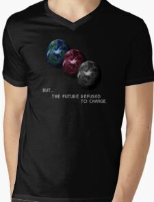Chrono Trigger - Game Over - But The Future Refused To Change Mens V-Neck T-Shirt