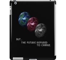 Chrono Trigger - Game Over - But The Future Refused To Change iPad Case/Skin