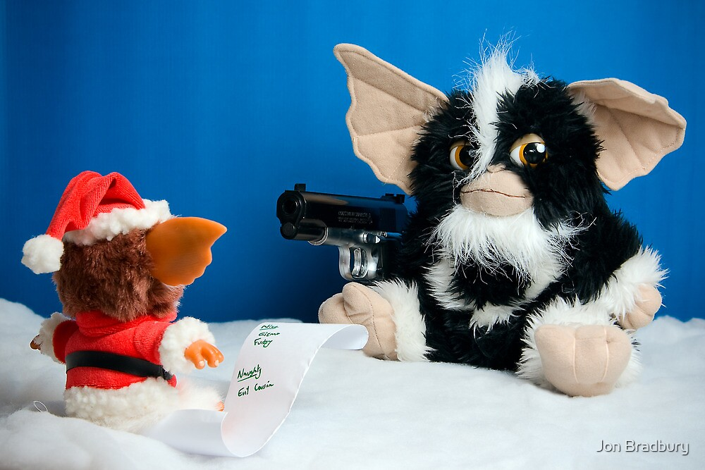 Gizmo's evil cousin suggests Santa checks his list a third time by Jon Bradbury