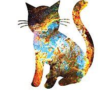 Heart Nebula | Space Kitty Photographic Print