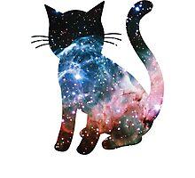 Thor's Helmet Nebula | Space Kitty Photographic Print