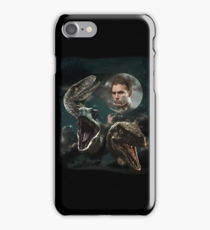 Three Raptors and a Pratt iPhone Case/Skin