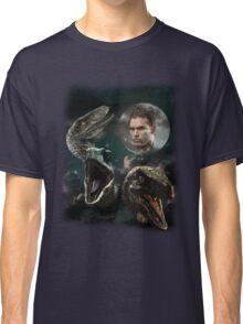 Three Raptors and a Pratt Classic T-Shirt