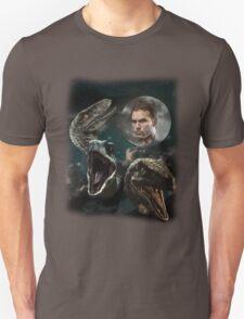 Three Raptors and a Pratt T-Shirt
