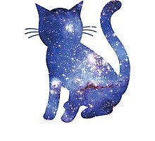 Magellan Blue | Space Kitty Photographic Print