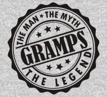 Gramps - The Man The Myth The Legend by LegendTLab