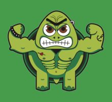 Tough Turtle by abcanimals
