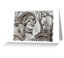 Lions Whisper Greeting Card