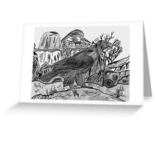 The Hunted Greeting Card