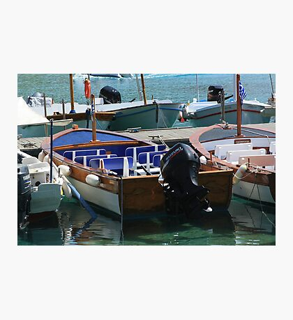 Greek Boat Photographic Print