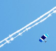 Blue Parachute by Robert Munro