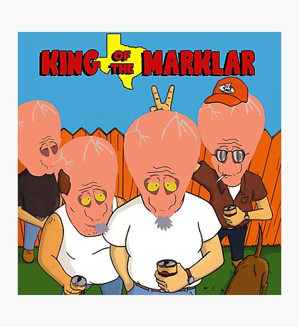 King of the Marklar Photographic Print