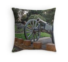 Kings Park Cannons Throw Pillow