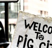 Pig City Sticker