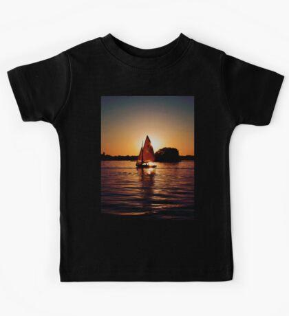 Sailing Silhouettes Kids Tee
