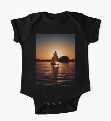 Sailing Silhouettes One Piece - Short Sleeve
