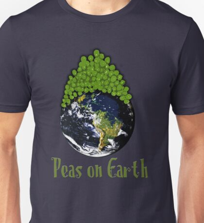 Peas on Earth - Cartoony T-Shirt