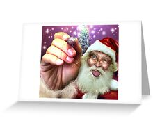 are YOU on my list? Greeting Card