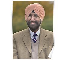 SIKHS FOR JUSTICE  Plate #4 Poster