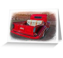 My Red Truck,.......I Wish ! Greeting Card