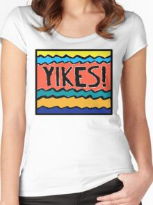 YIKES! Women's Fitted Scoop T-Shirt